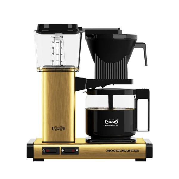 Moccamaster - KBG Select 741 Brushed Brass